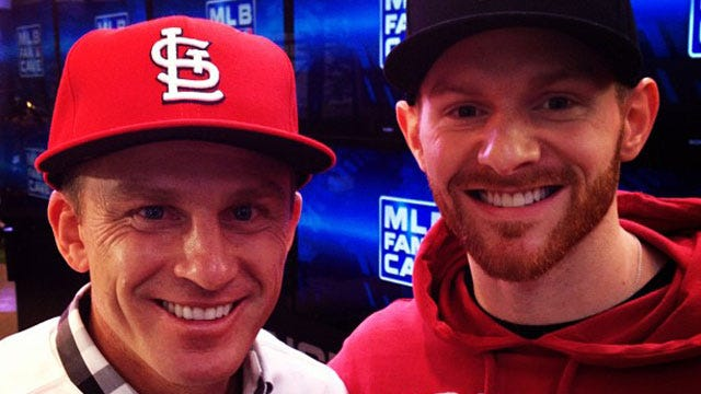 Excitement Surrounding Cardinals Playoff Run For Kyle At The MLB Fan Cave