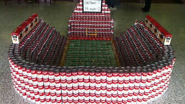 OKC Bob Moore Auto Group Hosts Canned Food Structure Contest For Good Cause