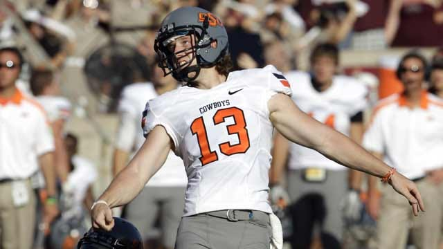 OSU's Sharp Named Big 12 Special Teams Player Of The Week