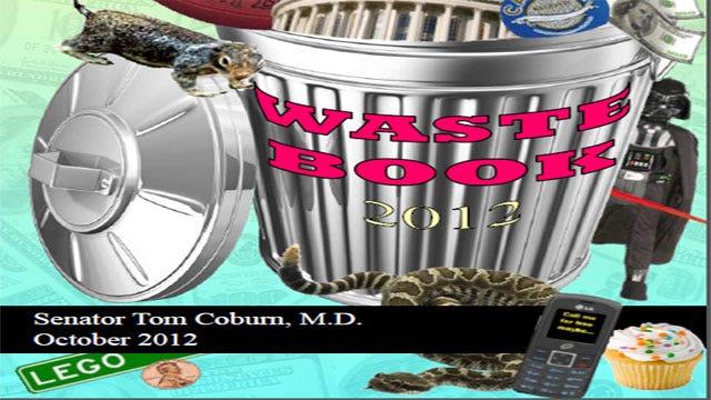 Sen. Tom Coburn Cites Worst Wastes Of Taxpayer Money In Wastebook 2012