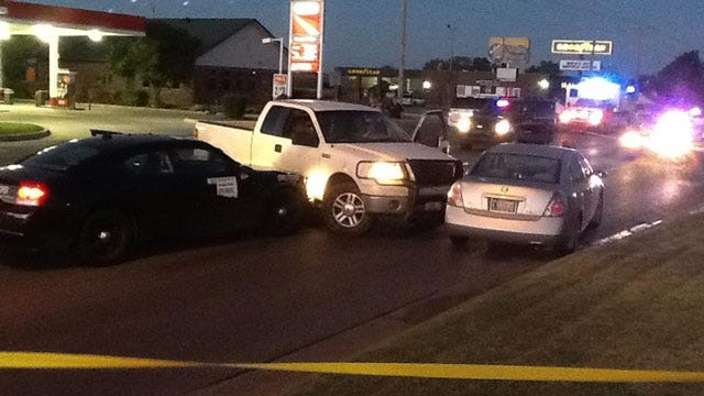 High-Speed Pursuit Ends In Crash In Southwest OKC
