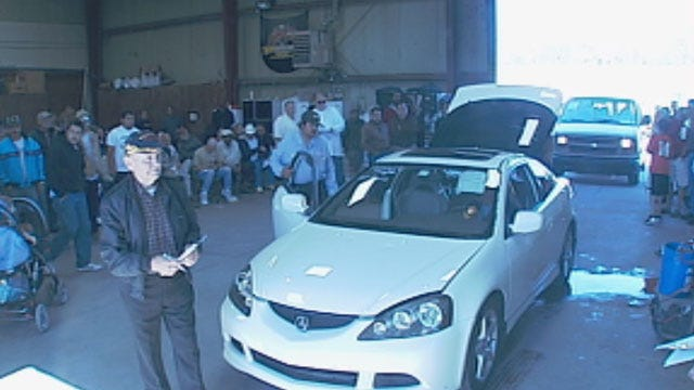 Alleged OKC Prostitution Ring Leader's Cars Sold At Auction