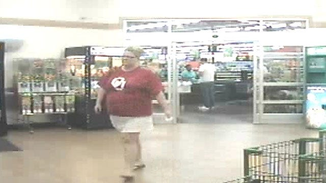 OKC Woman Caught On Camera After Passing Fake Checks