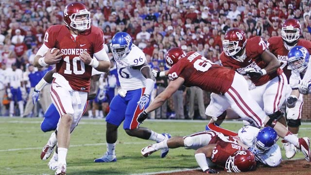 Sooners, Notre Dame Should Be Special Matchup