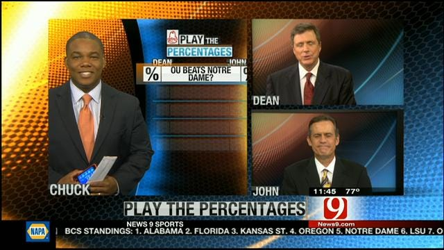 Play The Percentages: October 21, 2012