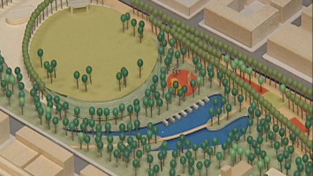 Architects Reveal Newest Plans For Downtown OKC Park