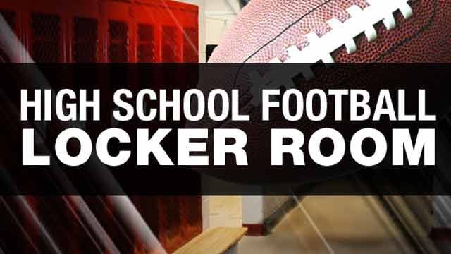 High School Football Locker Room Week 9