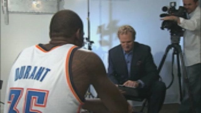 Exclusive One-On-One Interview With Kevin Durant