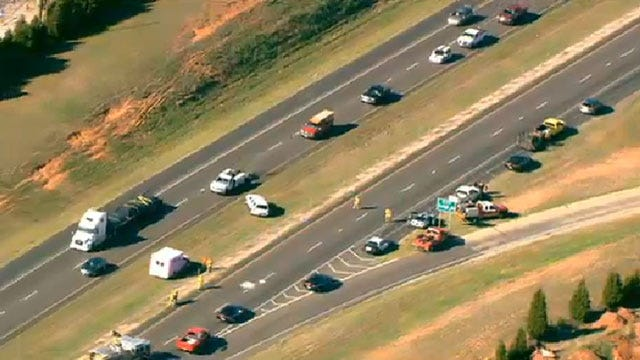NB I-35 In Edmond, At Danforth, Reopened After Accident