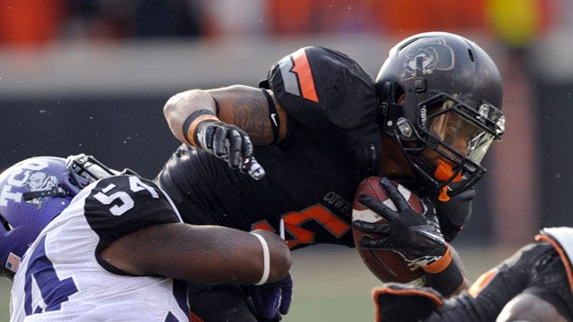Oklahoma State Smothers TCU In Dominant Second Half