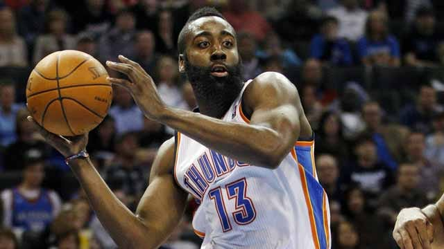 Thunder Finalizes Roster; Harden Rejects Offer