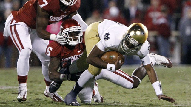 Notre Dame Showed It's For Real Against The Sooners