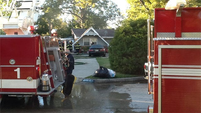 Crews Extinguish House Fire In Bethany