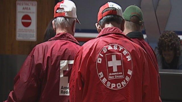 Oklahoma Red Cross Volunteers Respond To Hurricane Sandy