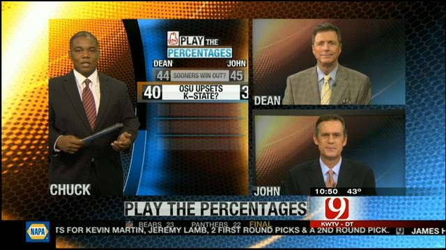 Play The Percentages: October 28, 2012