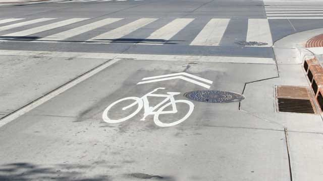 OKC Streets More Biker-Friendly With New Sharrow Bike Lanes