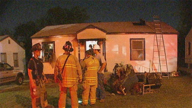 Firefighters Rescue Disabled Man From OKC House Fire
