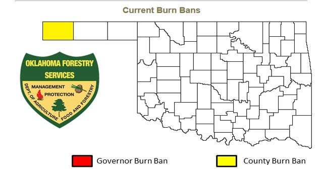 Governor Lifts Statewide Burn Ban On All Oklahoma Counties