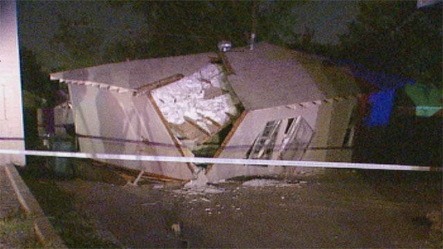 House Under Renovation Collapses In OKC