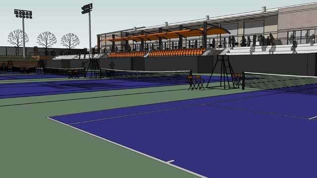 OSU Begins Work On New Tennis Facilities