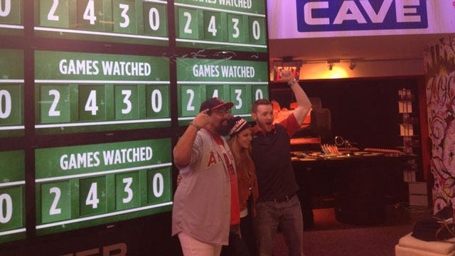 Mission Accomplished At The MLB Fan Cave