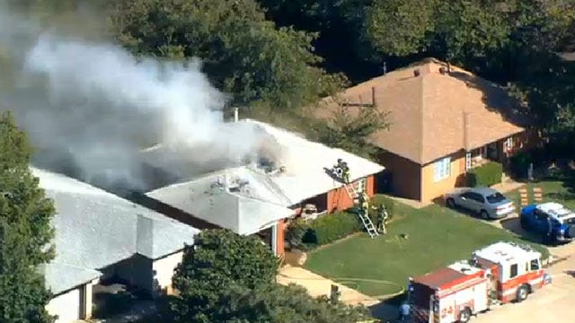 Crews Extinguish House Fire In Northwest OKC