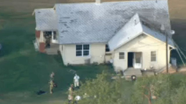Firefighters Extinguish House Fire In Oklahoma City