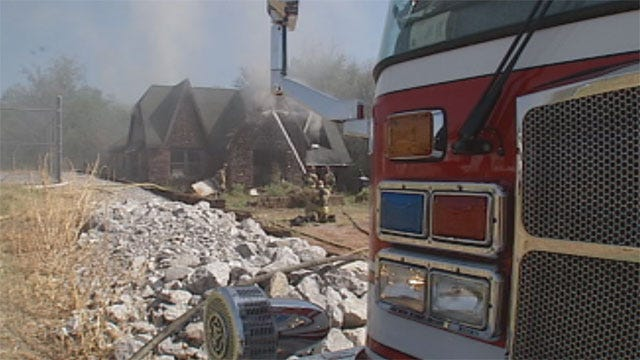 Elderly Woman Recovering After Fire In Northwest OKC