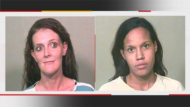 Auto Burglary Call Leads To Arrest Of Two OKC Moms