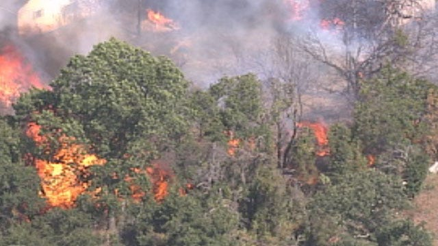 Study Predicts Wildfire Risk For Areas In Oklahoma