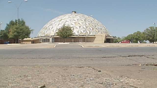 OKC's Historic Gold Dome Sells At Auction For $800,000