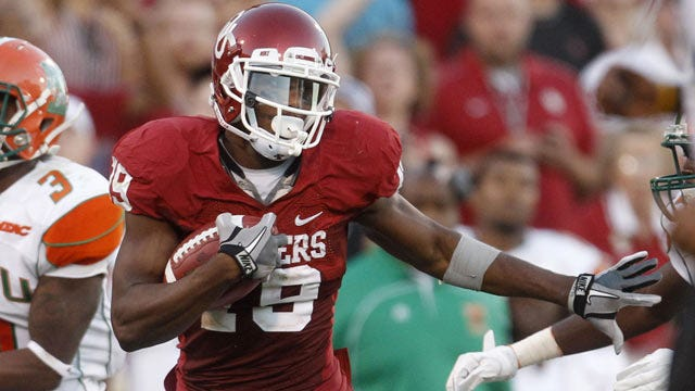 Justin Brown Quickly Becoming A Major Asset For Sooners