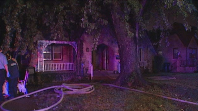 Woman Rescues Disabled Mother From Northwest OKC House Fire