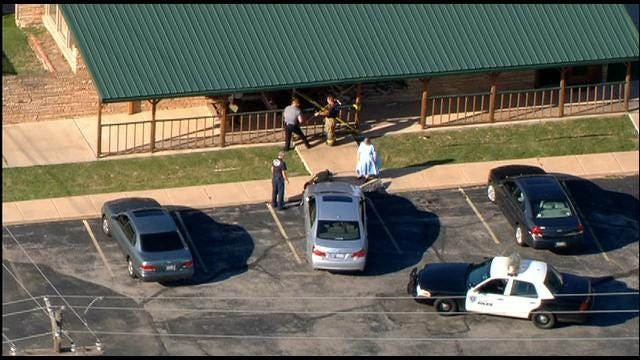 Car Crashes Into Building In SW OKC