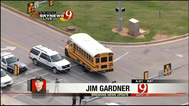 School Bus Accident Reported In Bethany