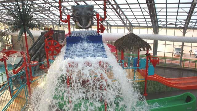'Water-Zoo' Indoor Water Park To Open On Tuesday In Clinton