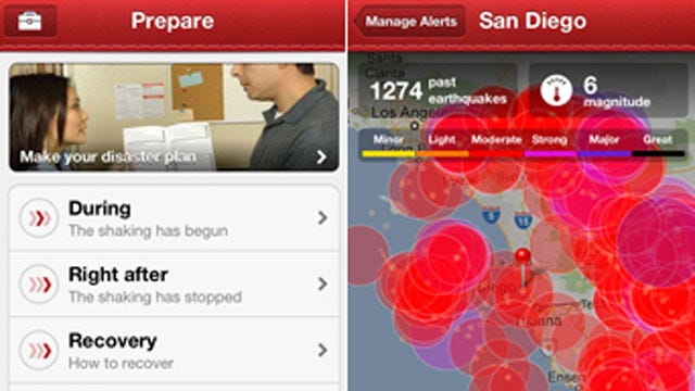 Red Cross Launches Free Earthquake App For Smart Phones