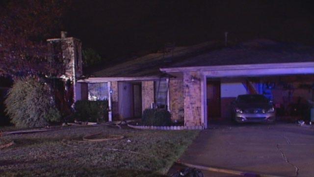OKC Man Escapes Homes After Lightning Sparks Fire