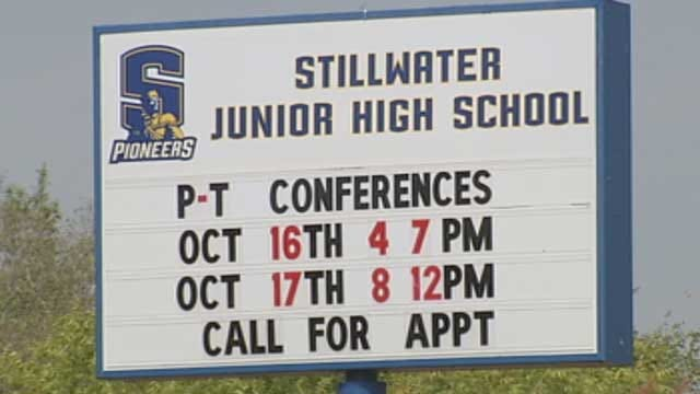 Counselors On Hand As Students Return To Stillwater Junior High School