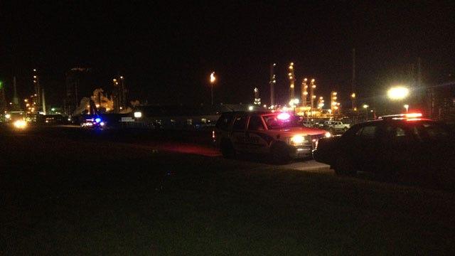 Officials Investigate Fatal Refinery Blast In Garvin County