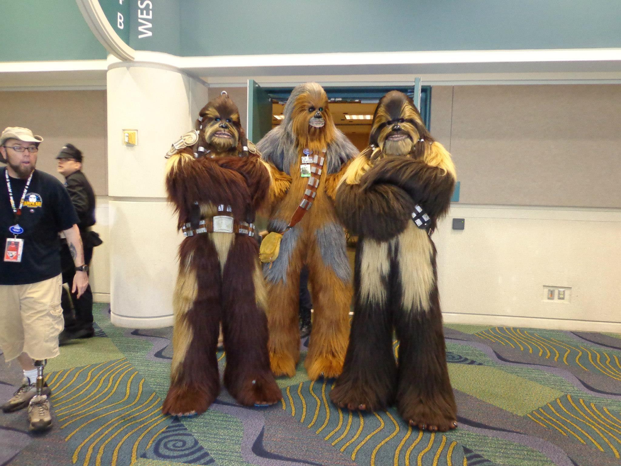 Star Wars Celebration and Isaac