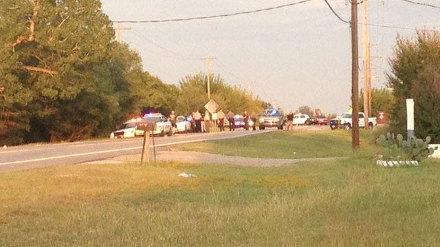 Two Arrested Following Officer-Involved Shooting, Manhunt in McLoud