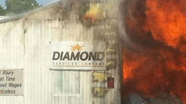 Fire Destroys Welding Shop In Northwest Oklahoma
