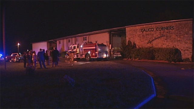 Suspect In Midwest City Standoff Faces Arson Charge After Fire At Apartment