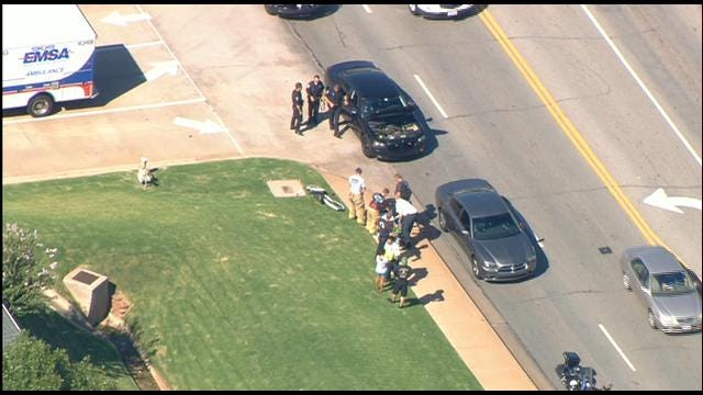 Person On Bicycle Struck By Vehicle In Edmond