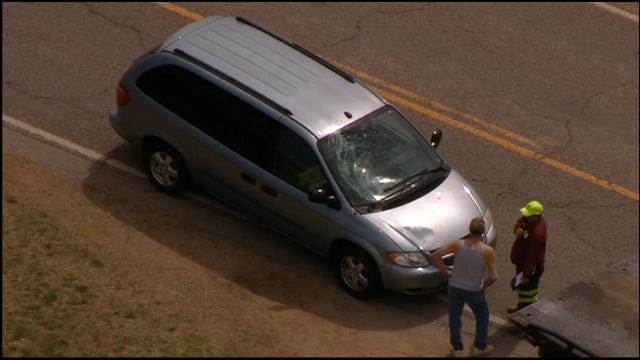 Car Accident In Choctaw Injures One Pedestrian