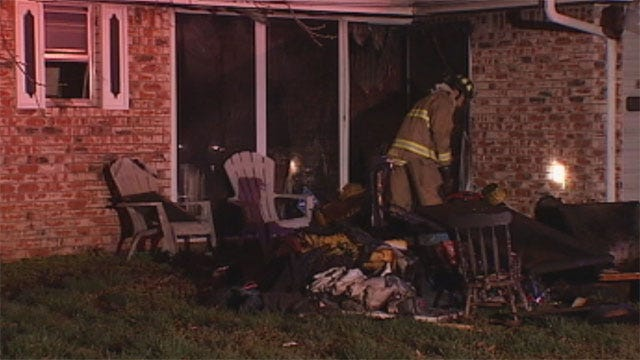Stranger Rescues Woman From Burning House In SW OKC