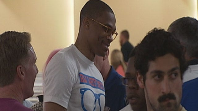 Thunder Players, Fans Go Bowling For A Good Cause