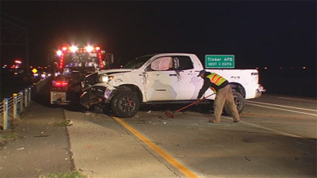 I-240 Reopens After Accident In Del City