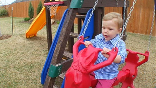 Family Of OK Toddler With Blood Disorder Raises Funds, Awareness